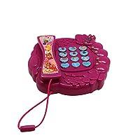 Toy Telephone Bee Design by Forest & Twelth 的*玩具,非常适合假装游戏,学习数字,颜色和水果,促进精细运动技能,适用于儿童、学龄前儿童