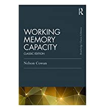 Working Memory Capacity: Classic Edition (Psychology Press & Routledge Classic Editions) (English Edition)