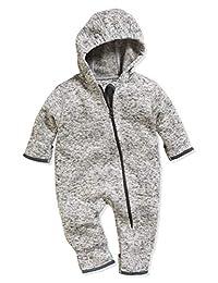 Playshoes 中性款 婴儿 针织绒布 连体衣