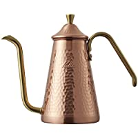 Kalita 滴滤壶 细长 700 TSUBAME&Kalita 青铜色 サイズ:19×22×10.8cm