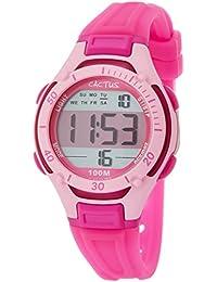 CACTUS 儿童手表 数字 10气压防水 CAC-82-M55 女孩 【正规进口商品】
