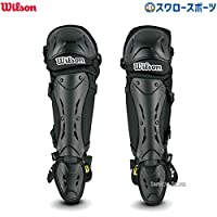 Wilson(*)新金色护腿 棒球 硬式 审判用 护具 NPB规格 无缝齿轮(审判用)WTA3451NP SM/ML 便于活动·牢固防护保护