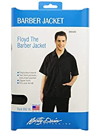 Betty Dain Floyd the Barber Jacket, Black, Extra Large