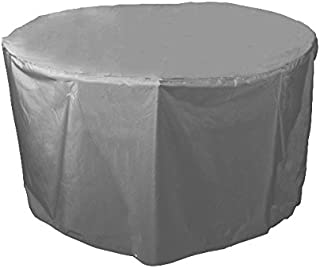 "Bosmere C540TG Round Table Cover, 40"" x 28"", Grey"
