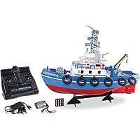 Carson 海岸警卫队 TC-08 2.4G * RTR,遥控船,带功能,包括遥控器,*电路,500108032,蓝色
