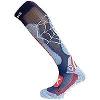 Enforma 男士 Ski Pro 压缩金属袜 - 蓝色,中号