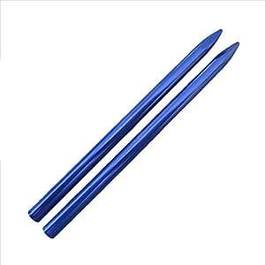 "3 1/2"" 550 III 型铝制伞绳 FID,系带,缝合针 蓝色 2组 2PK"