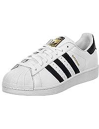 adidas 阿迪达斯 中性儿童 Originals Superstar 运动鞋 White (Footwear White/Core Black/Footwear White) 5.5 UK
