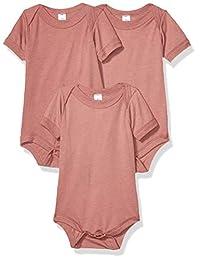 Marky G Apparel 婴儿三料混纺短袖连体衣,3 件装