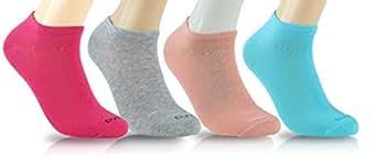 女士之父低切工石袜,尺码 4-12,8-16 包:精美有机土耳其*卷曲粗纺布料 4 种颜色 8 PAIRS | SHOE SIZES 8-12