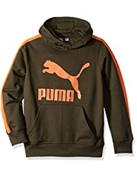 Puma 大男孩羊毛套头连帽衫
