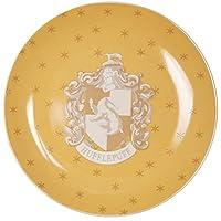 哈利波特 Hufflepuff 沙拉甜點盤子 4 件套 - 陶瓷 - 19.05 厘米