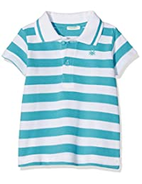 联合颜色 OF benetton 婴儿男孩 h/s POLO 衫