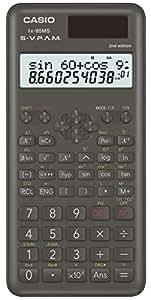 Casio 卡西欧 FX-85MS-2 科学计算器 两行功能 太阳能/电池驱动