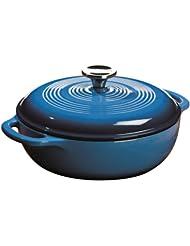 中国亚马逊:Lodge 洛奇 搪瓷铸铁荷兰煮锅302.4元(直邮总共338元)