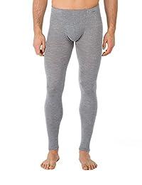Calida 男式软管羊毛和丝绸保暖裤