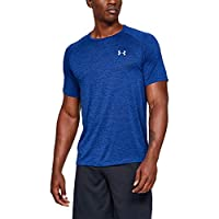 Under Armour 安德瑪 Tech 2.0 短袖男士T恤,輕盈透氣運動T恤,健身服,防臭技術
