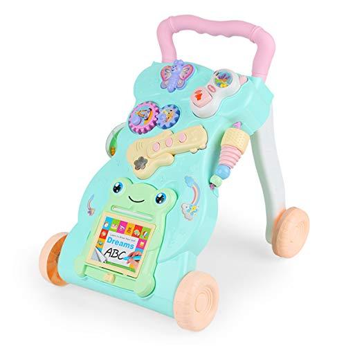 DE帝蓝浦早教多功能学步车 宝宝站立手推车 玩具母婴儿童6-7-18个月1岁学步车