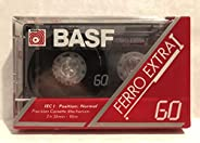 BASF Ferro Extra 60,空白盒盒式磁带