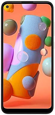 三星 Galaxy A11 32GB(A115M/DS)6.4英寸高清+,4,000mAh LTE GSM 工厂解锁智能手机 - 国际版 白色