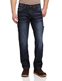 U.S. Polo Assn. 男式修身低腰直筒牛仔裤
