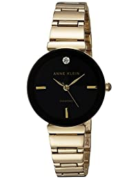 Anne Klein AK-2434BKGBAK/2434BKGB analog 合金 金色 AK/2434BKGB watches