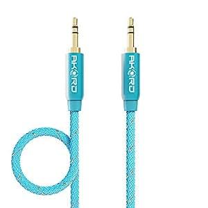 AKORD 3.5 mm AUX 音频电缆AU1-LBL-1M 1 Metre