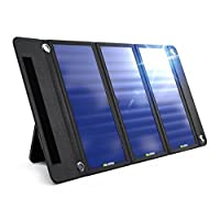 Wildtek SOURCE 21W 防水便攜式太陽能充電器面板,帶兩個 USB 端口
