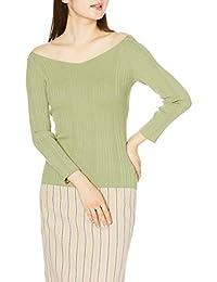 Snidel 随机罗纹露肩针织衫 SWNT201073 女士