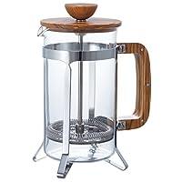 Hari 橄榄木咖啡馆压机 透明的 4 Cup CPSW-4-OV