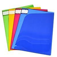 KOKUYO 国誉 WCN-TFB2610 A4 6页 文件保护套/斜切式内袋 4个装(4色混装)