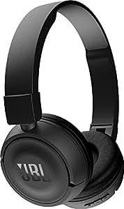 JBL Harman T450 蓝牙耳机 头戴式 折叠耳机 轻型 - Black