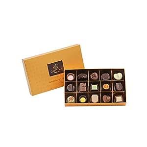 GODIVA 歌帝梵 金装品鉴系列巧克力礼盒15颗装 165g(比利时进口)(供应商直送)
