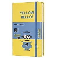 Moleskine 小黄人 口袋型横线硬封面笔记本 (向日葵黄色)