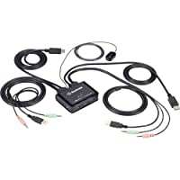 黑盒网络 - KV62-CBL - 2 端口 4k60 Displayport 电缆 Kvm 开关