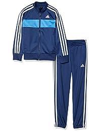 Adidas 阿迪达斯 儿童训练服 B 3条纹 运动衫上下套装 (慢跑裤)(FTN25)