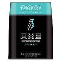 AXE 身体喷雾,男式,用 APOLLO g ,两件装 阿波罗 4 oz, Twin pack