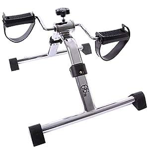 66fit 折叠臂和腿部踏板锻炼器 - 家庭物理*健身迷你自行车