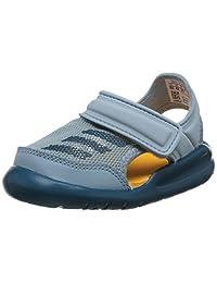 adidas kids 阿迪达斯童鞋 中性童 户外运动凉鞋 FortaSwim I AC8255