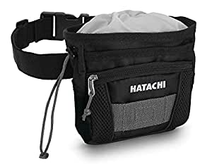 HATACHI(HATACHI) 地面高尔夫用 腰包2 BH7902 09 黑色