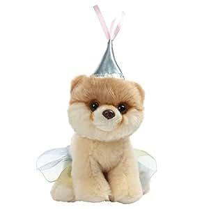 GUND 小BOO毛绒玩具-公主装- 5英寸(13cm)(亚马逊进口直采,美国品牌)