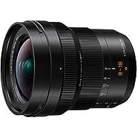 Panasonic LUMIX g LEICA DG vario-elmarit 专业镜头8–18mm  F2.8–4.0ASPH . mirrorless Micro FOUR thirds  h-e08018美国黑色 ) 。
