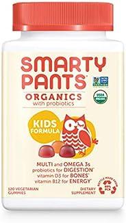 SmartyPants 每日儿童软糖多种维生素 120粒(30天供应)包装可能有所不同