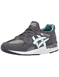 ASICS Gel Lyte V GS Running Shoe (Big Kid) Dark Grey/White 6 M US Big Kid