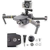 摄像机枪顶固定支架安装支架 360 全景 Gopro 摄像机 DJI Mavic Pro/Mavic Pro 铂金(非 3D 打印)
