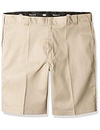 Dickies 男士 33.02 cm 弹性宽松款多口袋工作短裤大码