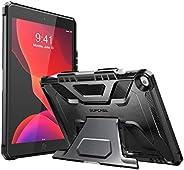 SupCase 专为 iPad 10.2 2019,iPad Air 3 保护套,[UB 系列]内置苹果铅笔架全身坚固保护套适用于 iPad 10.2 英寸* 7 代,iPad Air 3 10.5 英寸SUP-iPad2019-10.2-Unic