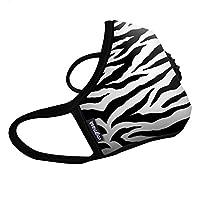 Vogmask N99CV时尚成人/青少年防雾霾 pm2.5 防尘 防过敏源 户外运动旅行口罩 Zebra(斑马小泽)1只 M号(参考体重:51-130磅/23-58公斤)(进口)