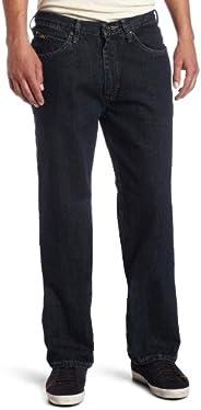 Lee 男式宽松直筒牛仔裤 Dark Quartz 40W x 30L