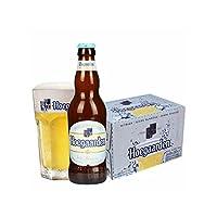 福佳 比利时进口啤酒 Hoegaarden白啤酒整箱330ml*24瓶整箱装